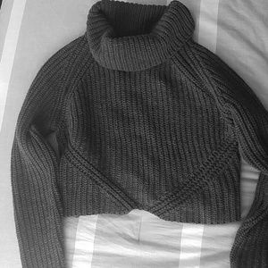 Crop Winter Sweater